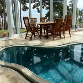 Indoor Exercise Pool - In Solarium