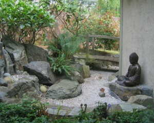 Japanese inspired landscaping